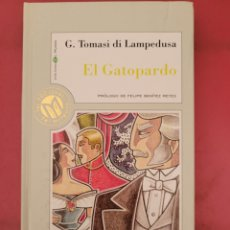 Relatos y Cuentos: EL GATOPARDO G.TOMASI DI LAMPEDUSA. Lote 278766988