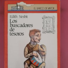 Relatos y Cuentos: LOS BUSCADORES DE TESOROS EDITH NESBIT. Lote 278794273