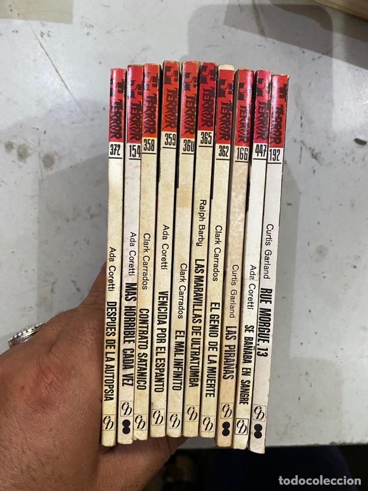 Relatos y Cuentos: Gran lote de 287 novelas de TERROR originales Editorial Bruguera Bolsilibros.ver todas las fotos - Foto 11 - 285695173