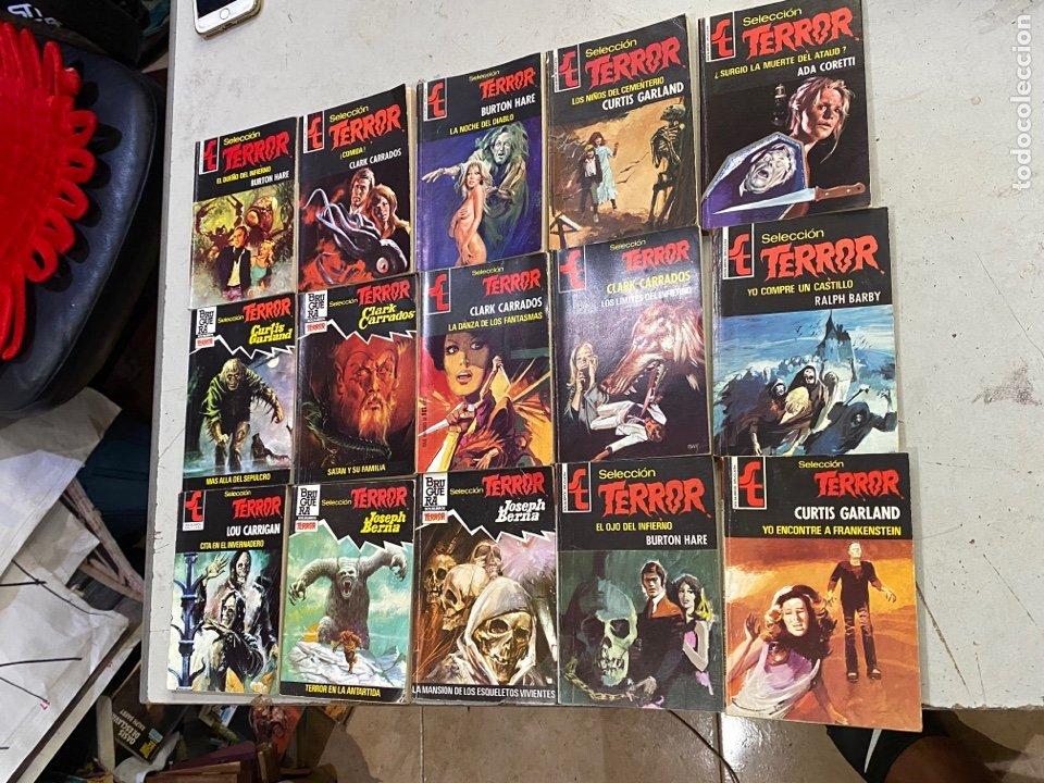 Relatos y Cuentos: Gran lote de 287 novelas de TERROR originales Editorial Bruguera Bolsilibros.ver todas las fotos - Foto 25 - 285695173
