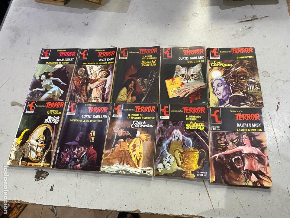 Relatos y Cuentos: Gran lote de 287 novelas de TERROR originales Editorial Bruguera Bolsilibros.ver todas las fotos - Foto 27 - 285695173