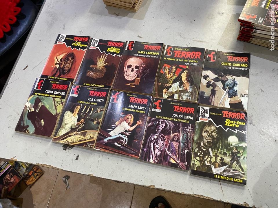 Relatos y Cuentos: Gran lote de 287 novelas de TERROR originales Editorial Bruguera Bolsilibros.ver todas las fotos - Foto 28 - 285695173