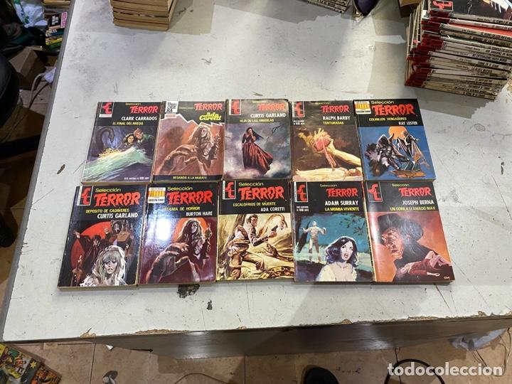 Relatos y Cuentos: Gran lote de 287 novelas de TERROR originales Editorial Bruguera Bolsilibros.ver todas las fotos - Foto 30 - 285695173