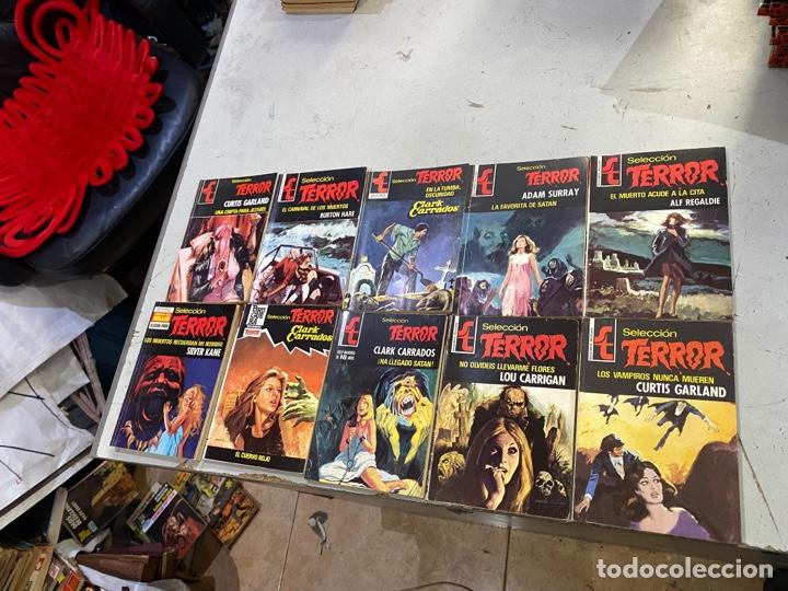 Relatos y Cuentos: Gran lote de 287 novelas de TERROR originales Editorial Bruguera Bolsilibros.ver todas las fotos - Foto 31 - 285695173