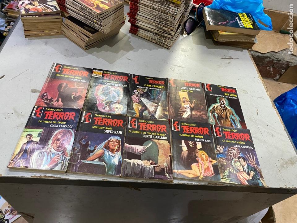 Relatos y Cuentos: Gran lote de 287 novelas de TERROR originales Editorial Bruguera Bolsilibros.ver todas las fotos - Foto 33 - 285695173