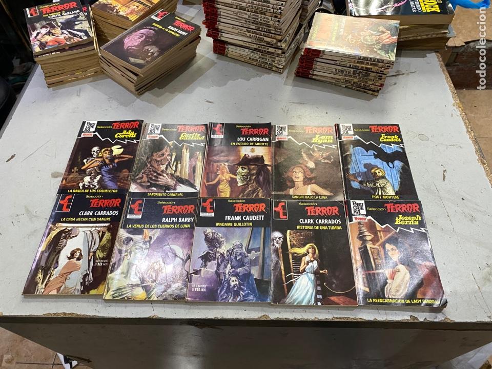 Relatos y Cuentos: Gran lote de 287 novelas de TERROR originales Editorial Bruguera Bolsilibros.ver todas las fotos - Foto 34 - 285695173