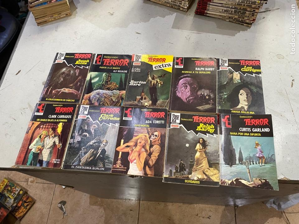 Relatos y Cuentos: Gran lote de 287 novelas de TERROR originales Editorial Bruguera Bolsilibros.ver todas las fotos - Foto 35 - 285695173