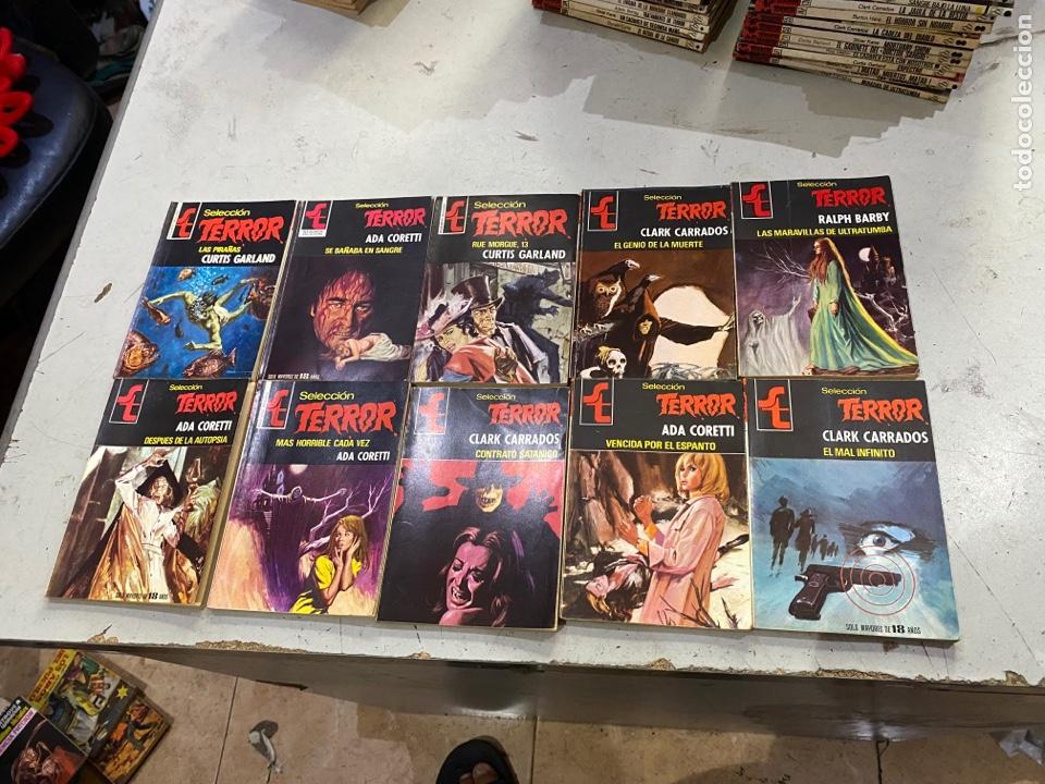 Relatos y Cuentos: Gran lote de 287 novelas de TERROR originales Editorial Bruguera Bolsilibros.ver todas las fotos - Foto 36 - 285695173