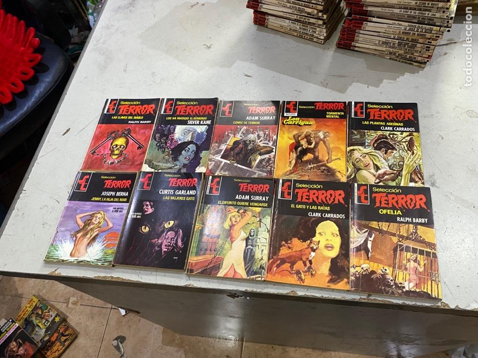 Relatos y Cuentos: Gran lote de 287 novelas de TERROR originales Editorial Bruguera Bolsilibros.ver todas las fotos - Foto 37 - 285695173