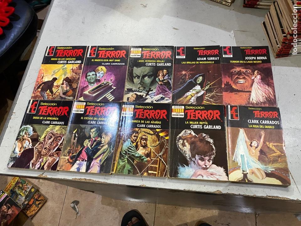 Relatos y Cuentos: Gran lote de 287 novelas de TERROR originales Editorial Bruguera Bolsilibros.ver todas las fotos - Foto 38 - 285695173