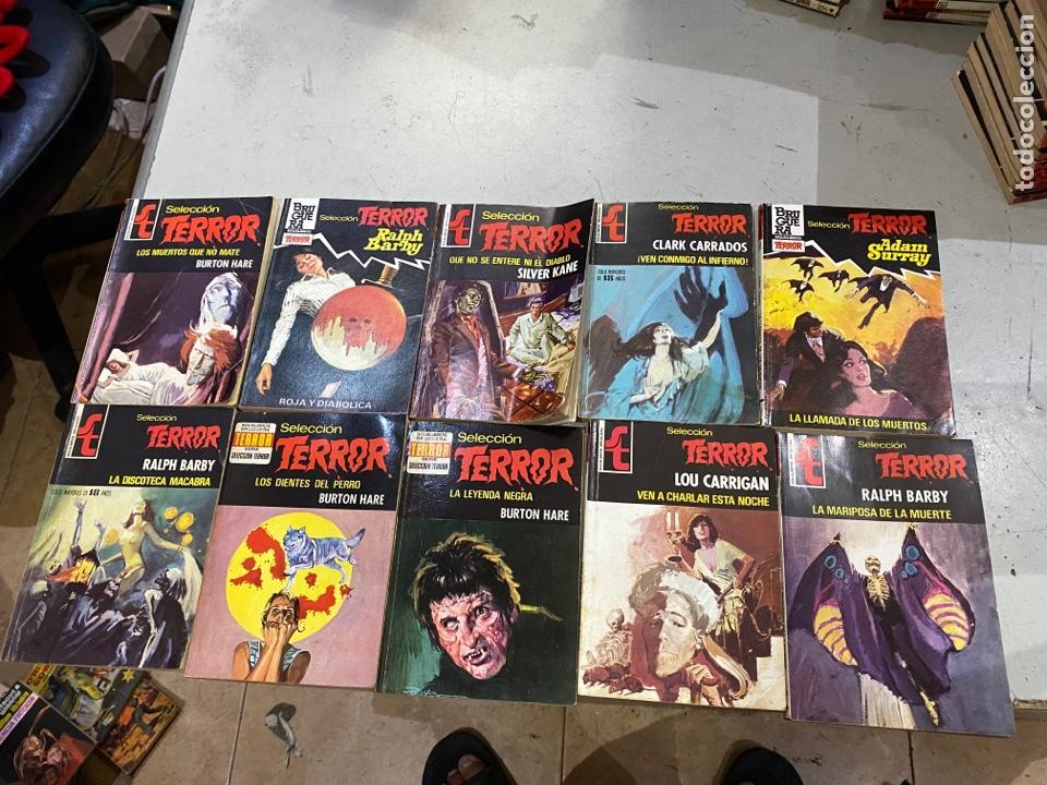 Relatos y Cuentos: Gran lote de 287 novelas de TERROR originales Editorial Bruguera Bolsilibros.ver todas las fotos - Foto 39 - 285695173