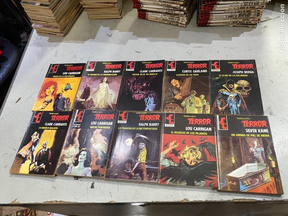 Relatos y Cuentos: Gran lote de 287 novelas de TERROR originales Editorial Bruguera Bolsilibros.ver todas las fotos - Foto 41 - 285695173