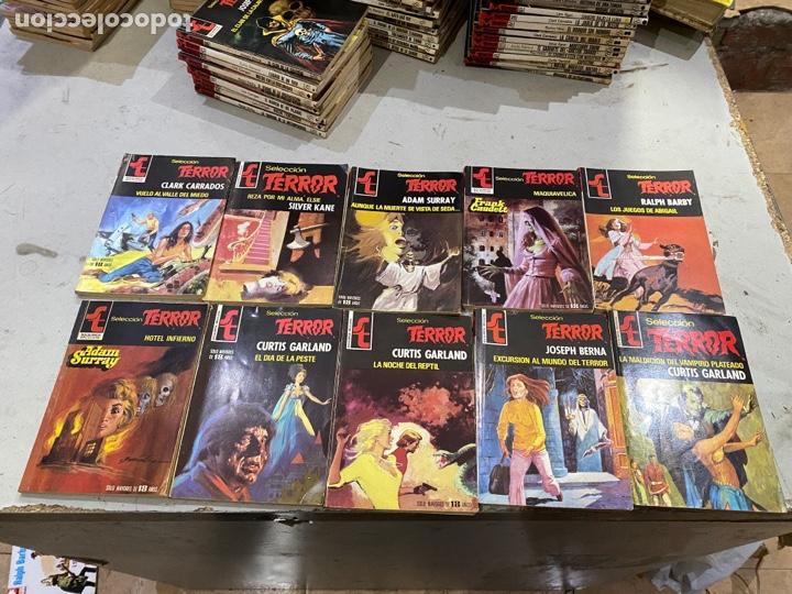 Relatos y Cuentos: Gran lote de 287 novelas de TERROR originales Editorial Bruguera Bolsilibros.ver todas las fotos - Foto 42 - 285695173