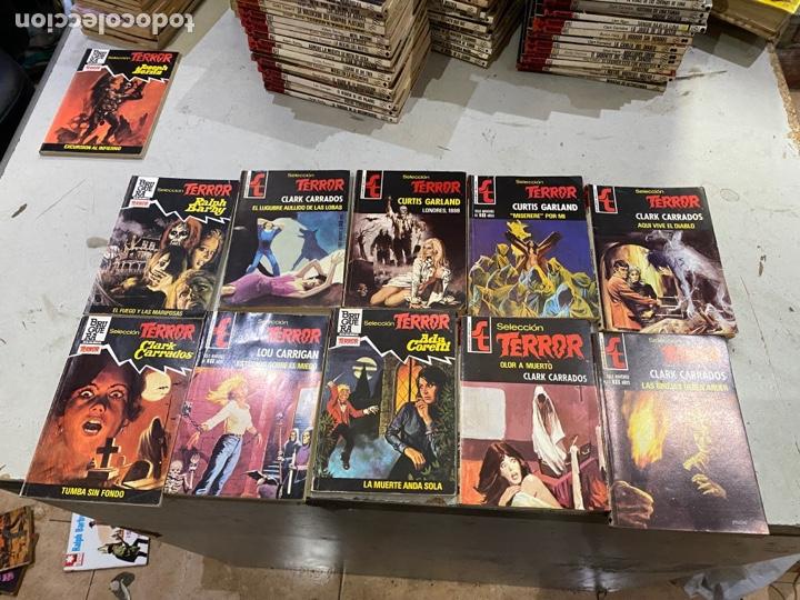 Relatos y Cuentos: Gran lote de 287 novelas de TERROR originales Editorial Bruguera Bolsilibros.ver todas las fotos - Foto 43 - 285695173