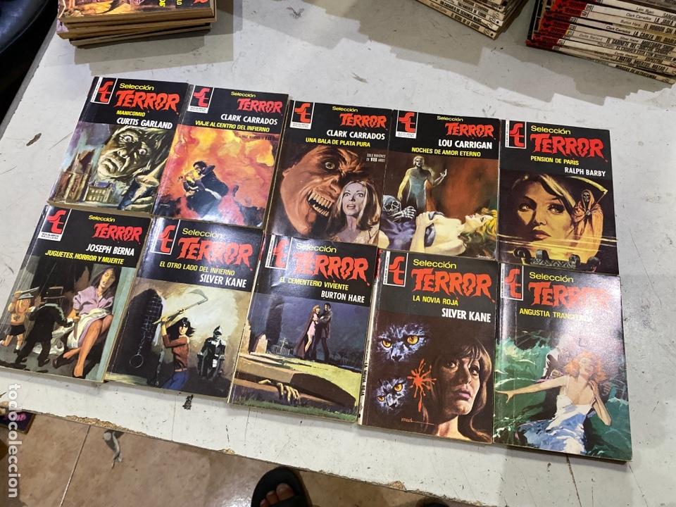 Relatos y Cuentos: Gran lote de 287 novelas de TERROR originales Editorial Bruguera Bolsilibros.ver todas las fotos - Foto 44 - 285695173