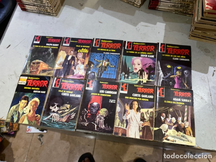 Relatos y Cuentos: Gran lote de 287 novelas de TERROR originales Editorial Bruguera Bolsilibros.ver todas las fotos - Foto 46 - 285695173