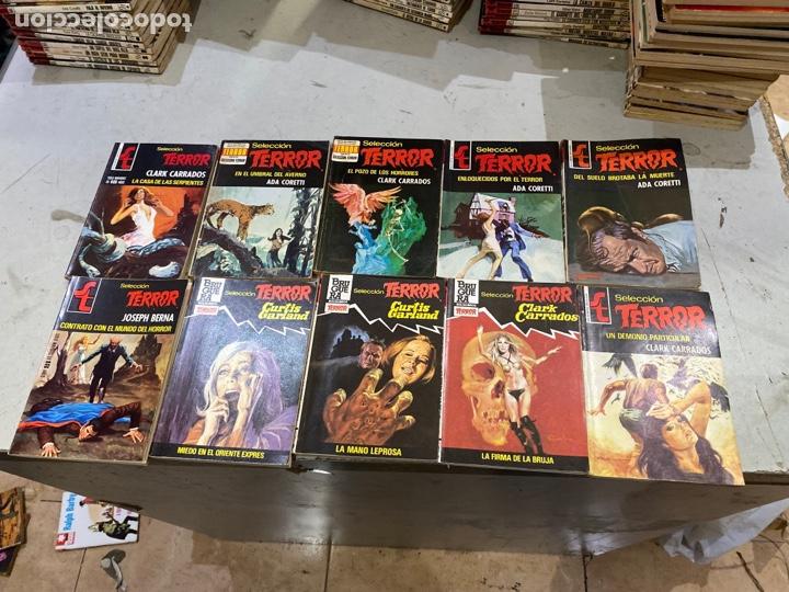 Relatos y Cuentos: Gran lote de 287 novelas de TERROR originales Editorial Bruguera Bolsilibros.ver todas las fotos - Foto 47 - 285695173