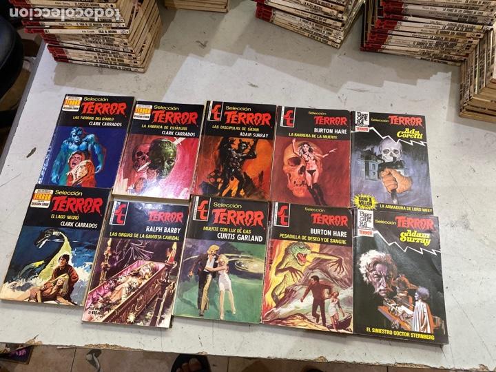 Relatos y Cuentos: Gran lote de 287 novelas de TERROR originales Editorial Bruguera Bolsilibros.ver todas las fotos - Foto 48 - 285695173