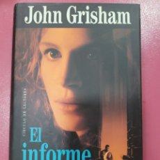 Relatos y Cuentos: EL UNIFORME PELÍCANO JOHN GRISHAM. Lote 288231128