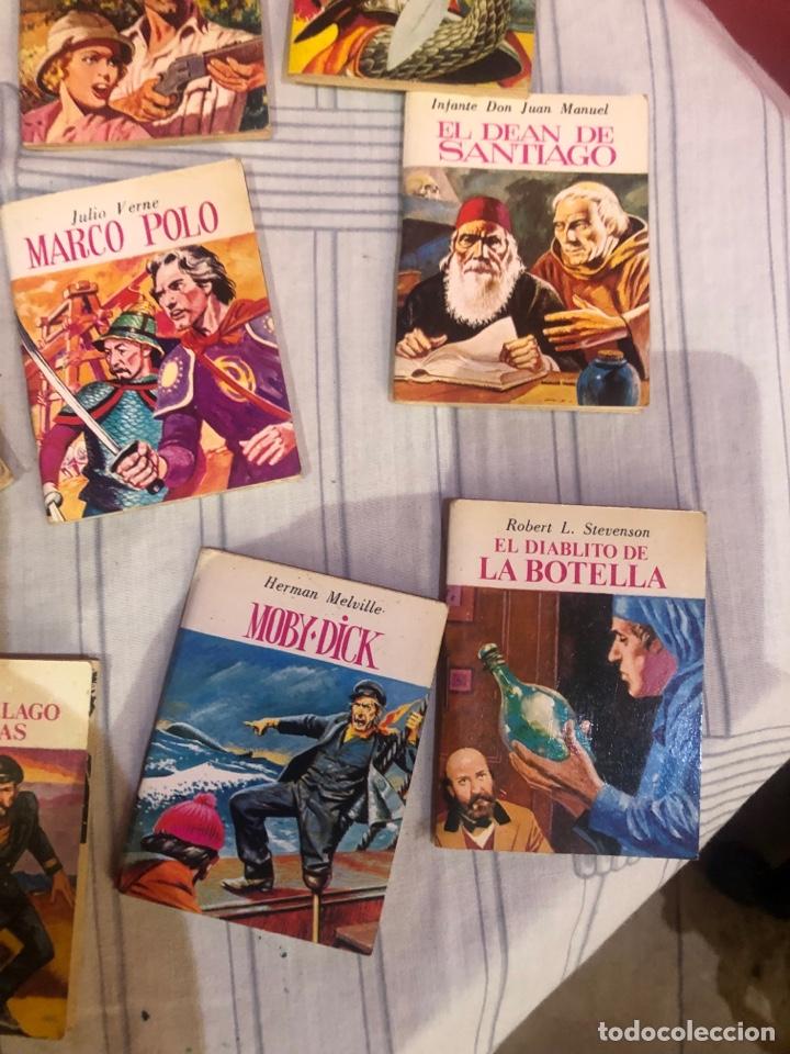 Relatos y Cuentos: Lote de 25libritos cuentos pequeños minibiblioteca de la literatura universal 1983 - Foto 2 - 289701173