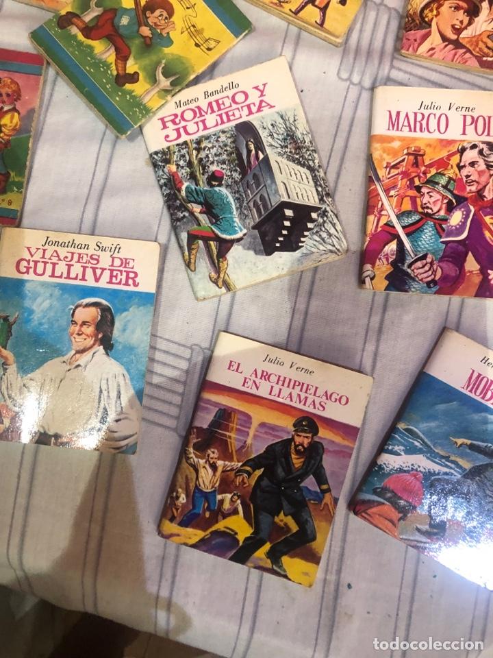 Relatos y Cuentos: Lote de 25libritos cuentos pequeños minibiblioteca de la literatura universal 1983 - Foto 5 - 289701173