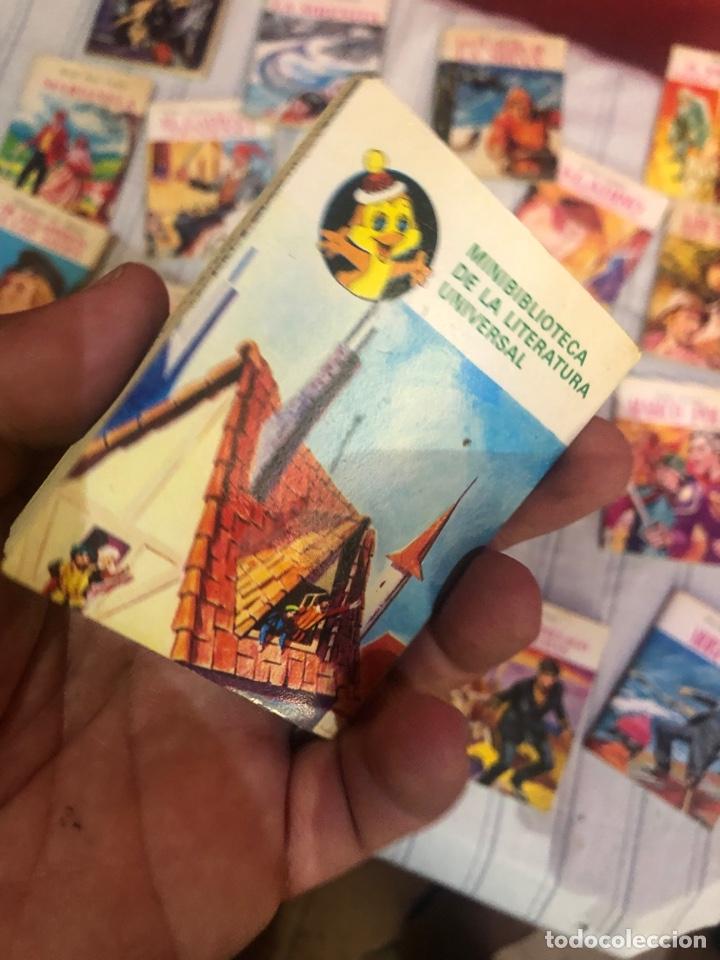 Relatos y Cuentos: Lote de 25libritos cuentos pequeños minibiblioteca de la literatura universal 1983 - Foto 11 - 289701173
