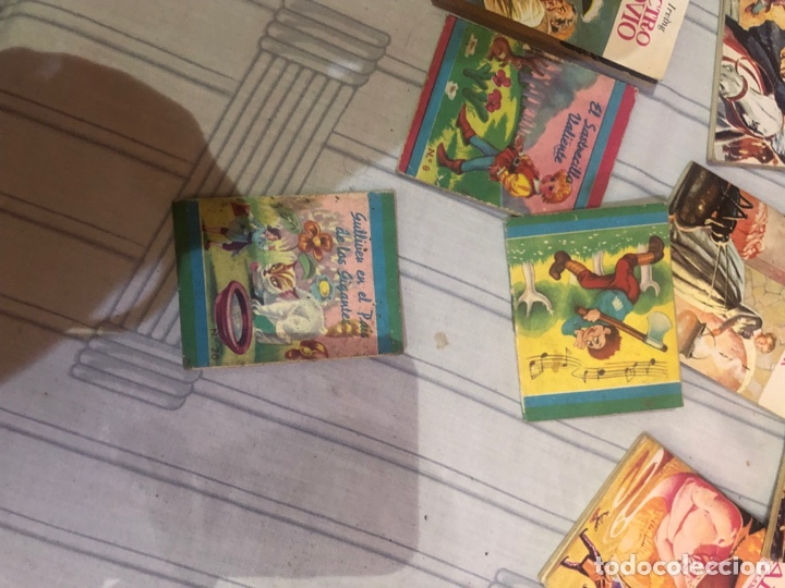 Relatos y Cuentos: Lote de 25libritos cuentos pequeños minibiblioteca de la literatura universal 1983 - Foto 13 - 289701173