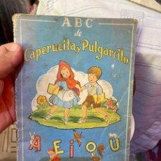 Relatos y Cuentos: ABC DE CAPERUCITA Y PULGARCITO / L. MALLAFRÉ. BCN : ED. ROMA, [1950]. 23X16CM. 18 P.IL.. Lote 289707608