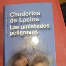 Relatos y Cuentos: CHODERLOS DE LACLOS LAS AMISTADES PELIGROSAS. Lote 292095288