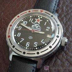 Relojes automáticos: EJERCITO CCCP - COMANDANTE - TANQUES - ORIGINAL NUEVO. Lote 17668294