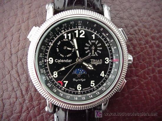 TRIAS -GERMANY- DEPORTIVO GRANDE ORIGINAL (Relojes - Relojes Automáticos)