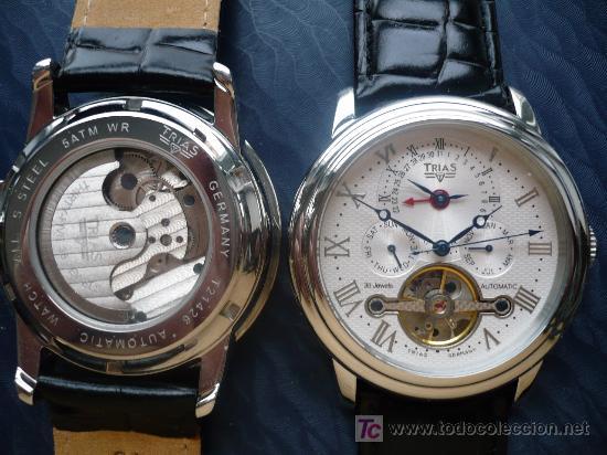 TRIAS GRAN COMPLICACION 45MM MAQUINARIA VISTA (Relojes - Relojes Automáticos)
