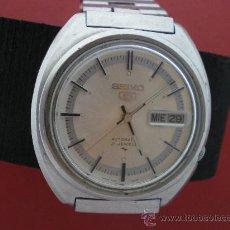 Relojes automáticos: SEIKO AUT CALENDARIO SEMANARIO. AÑOS 70.. Lote 26669669