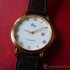 Relojes automáticos: URSS POLJOT MODELO AUTOMATICO -BLUETIME GOLD- OLD STOCK-ORIGINAL-NUEVO-. Lote 10985088