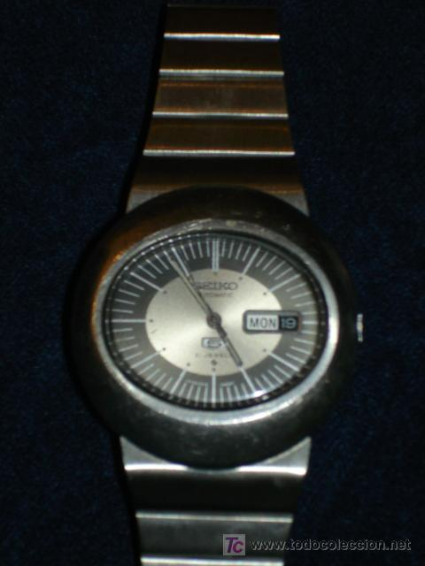 RELOJ - RELOJ SEIKO ACERO AUTOMATICO 6119-5411 (Relojes - Relojes Automáticos)