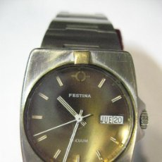 Relojes automáticos: FESTINA AUTOMATICO ACERO Y ORO. Lote 27406676