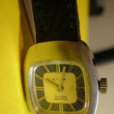Relojes automáticos: RELOJ AYJA.DE PULSERA Y DE SEÑORA. Lote 21056431