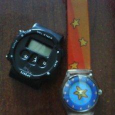 Relojes automáticos: DOS RELOJES DIGITALES. Lote 21455902