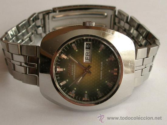 2c3281446da Antiguo reloj suizo automatico camy años 70´s