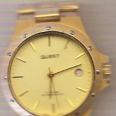 Relojes automáticos: RELOJ AUTOMATICO QUEST 12 SOREW FUNCIONA Y SE PARA-CABALLERO. Lote 26315370