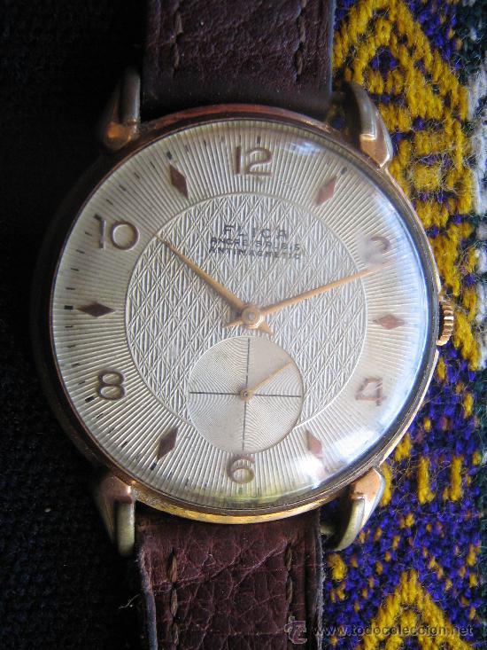 RELOJ FLICA ANCRE IS RUBIS ANTIMAGNETICS DE FAB SWISS AUTOMATIC MIREN LAS FOTOS ES EL MISMO (Relojes - Relojes Automáticos)