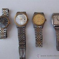 Relojes automáticos: 4 RELOJES DE PULSERA VARIAS MARCAS. Lote 28889911