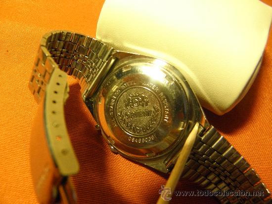 Relojes automáticos: RELOJ ORIENT. AÑOS 70. 21 RUB. AUTOMATICO. CRISTAL 3 ESTRELLAS. FUNCIONANDO. DESCRIP. Y FOTOS. - Foto 6 - 227950305