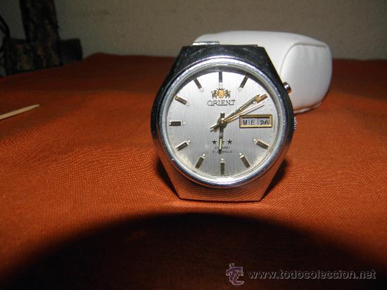 Relojes automáticos: RELOJ ORIENT. AÑOS 70. 21 RUB. AUTOMATICO. CRISTAL 3 ESTRELLAS. FUNCIONANDO. DESCRIP. Y FOTOS. - Foto 9 - 227950305