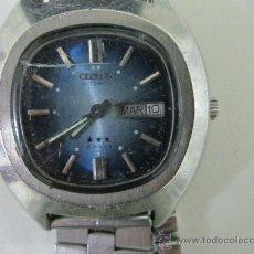 Relojes automáticos: RELOJ CITIZEN - AUTOMATICO . ACERO - OCHENTERO - FUNCIONANDO- ESFERA AZUL . CRISTAL TOCADO. Lote 30658353