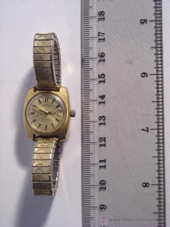 Relojes automáticos: reloj Automatico pulsera de señora marca Roamer searock automatic swiss made Funcionando. - Foto 3 - 31304007