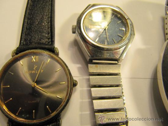 Relojes automáticos: Lote de 5 relojes para repasar o reparar - Foto 2 - 34262087