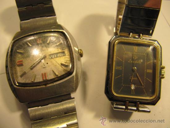 Relojes automáticos: Lote de 5 relojes para repasar o reparar - Foto 4 - 34262087