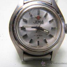 Relojes automáticos: RELOJ DE SEÑORA JEMIS 17 JEWELS MADE IN JAPAN. NO FUNCIONA. Lote 36428696