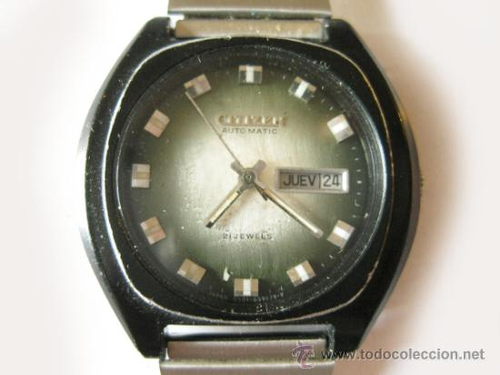 7ef275d75f6ab Reloj citizen de caballero - automatico y funci - Sold at Auction ...